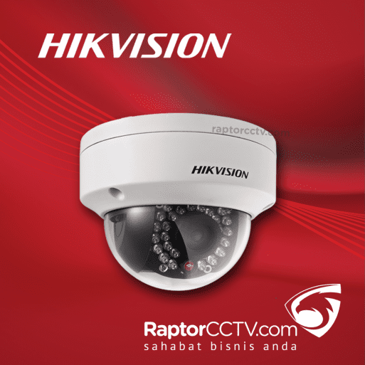 Hikvision DS-2CD2021F-I Fixed Dome Ip Camera 2MP