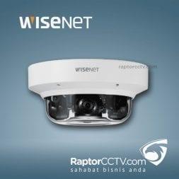 Wisenet PNM-9084QZ H.265 PTRZ Ip Camera Multi-arah 8MP