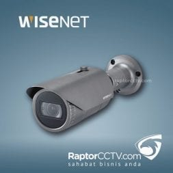 Wisenet QNO-6082R H.265 IR Bullet Ip Camera 2MP
