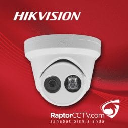 Hikvision DS-2CD2363G0 WDR Fixed Turret Ip Camera with Build-in Mic 6MP